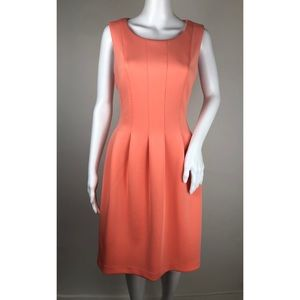 Calvin Klein Coral Sleeveless Dress Size 12